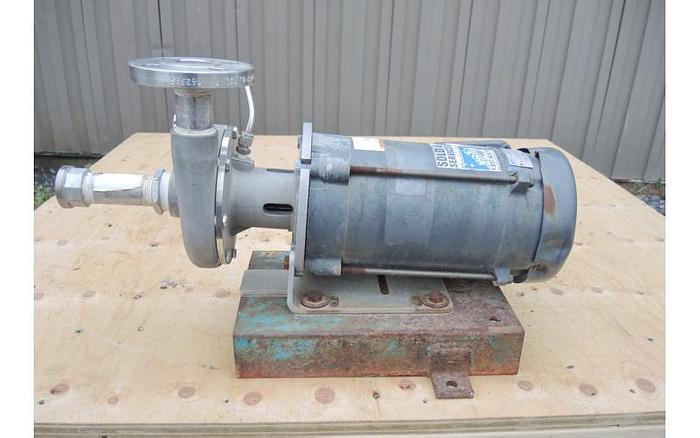 "Used USED CENTRIFUGAL PUMP, 1.25"" X 1"" INLET & OUTLET, 316 STAINLESS STEEL"