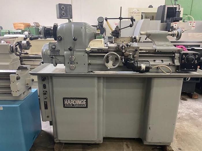 Used Hardinge HLV Toolroom Lathe #5919