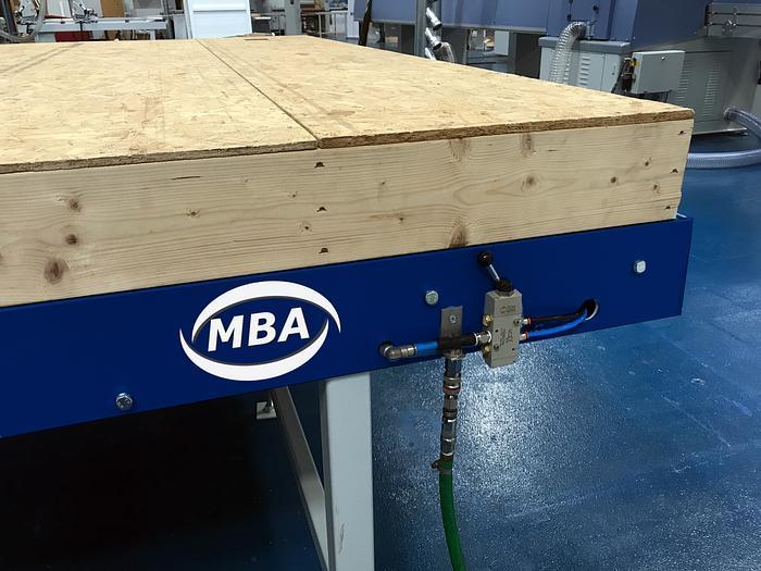 Modular Framing Tables For Framing & Boarding Of Panels