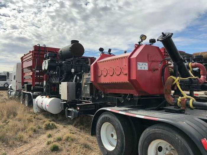 2500hp Quintuplex Pump Trailer
