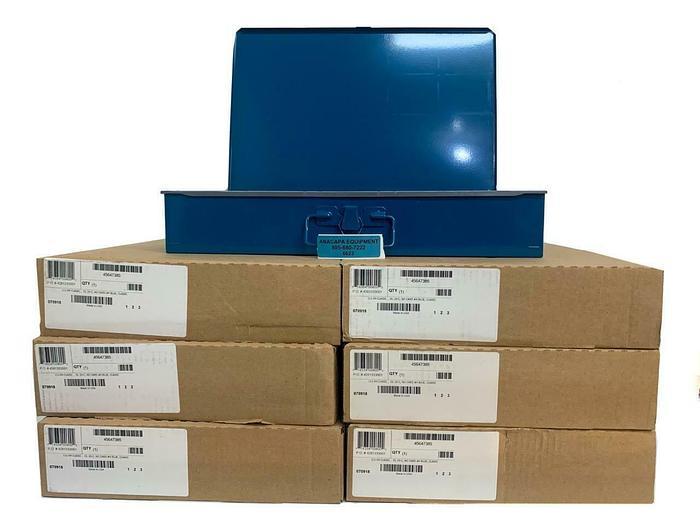 """Durham 111-04 Small Steel Box w/ 20 Compartment Insert 18x12x3"""" Lot of 9 (6623)W"""