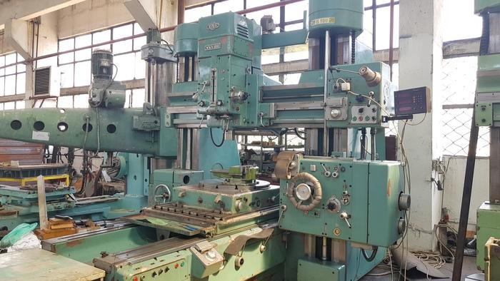 1978 WKV 100 Jig boring machine  MAS KOVOSVIT