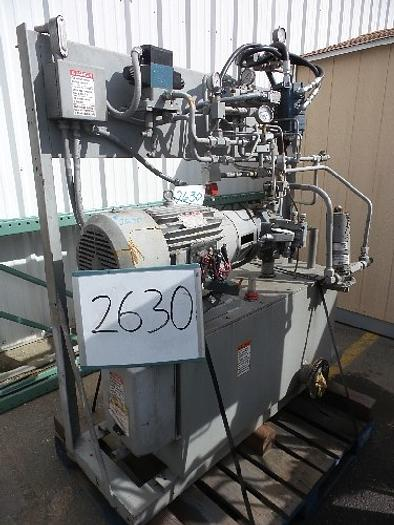 Used 20 Hp Hydraulic Power Pack #2630
