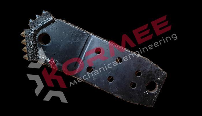 "Kormee Stuurplaat 4"" JAGGER VM 6-bolt"