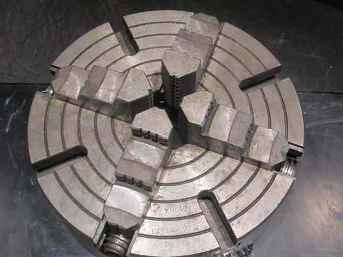 "Used Bison 10"" PUUF-M10D4ZJ, 4-jaw chuck, D1-4"