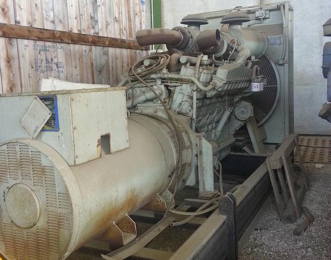 Usata Gruppo Elettrogeno, CUMMINS Fuel System 800