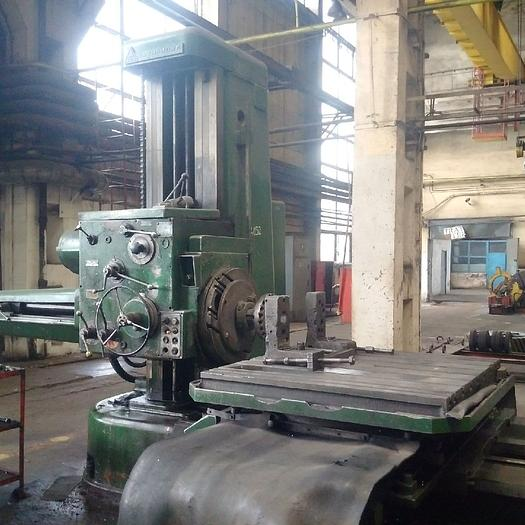 Horizontal Boring Mill TOS W100 1972