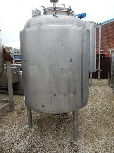 Used 1,640 Litre Stainless Steel Insulated Tank with Agitator