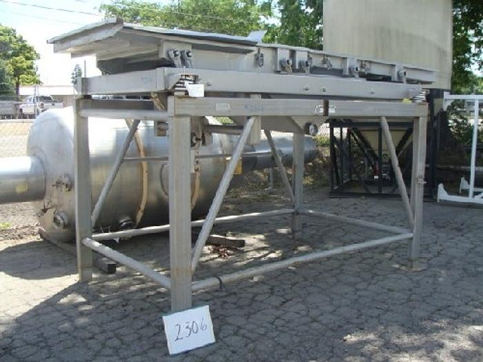 Commercial Mfg. 42'' Wide x 12' Long Dewatering Shaker