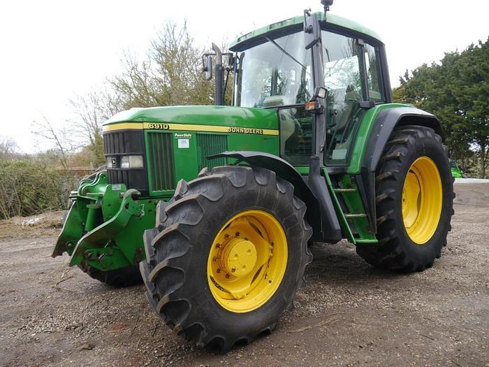 Used John Deere 6910 4wd Tractor