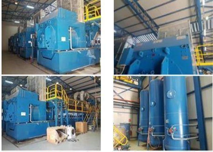 Used 40 MW 2010 Used Wartsila 20V34SG Natural Gas Combined Cycle Power Plant