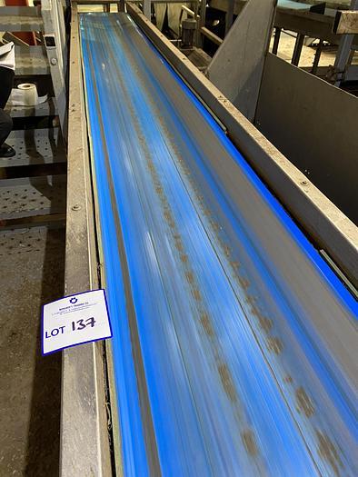 Used Steel Conveyor Belt 7m L 0.55m W