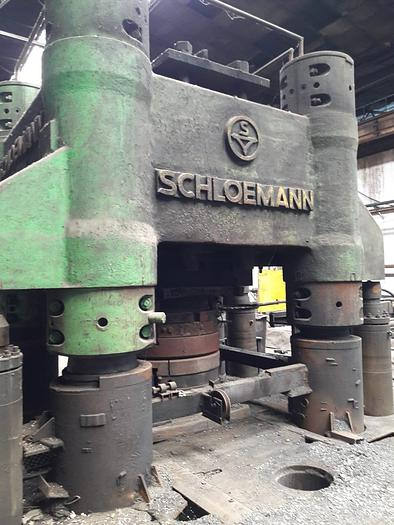 Wheel forging line for sale SCHLOEMANN