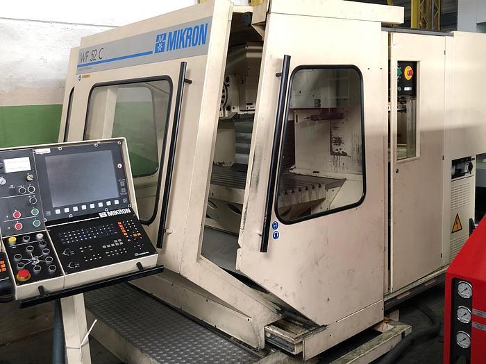 1992 CNC Fräsmaschine MIKRON WF 52 C