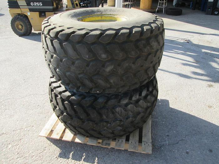 Used Firestone 21.5L-16.1 Tractor Tires And Rims