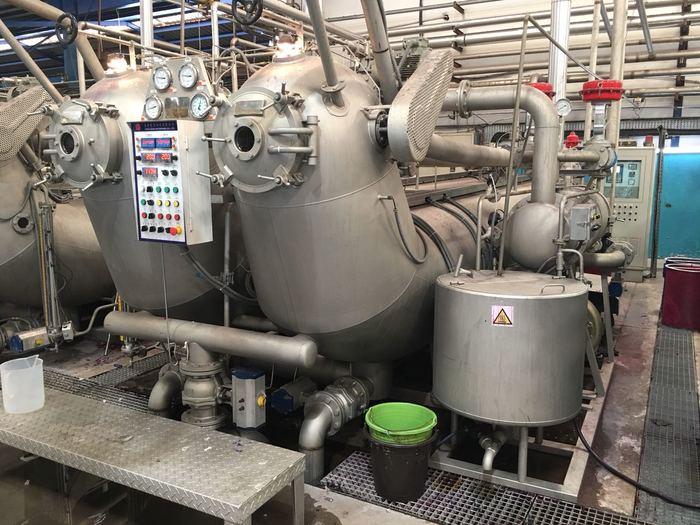 Jet dyeing  TONG GENG  600 kgs  2016