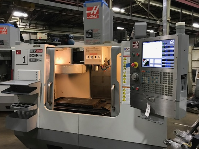 HAAS VF1D Vertical Machining Center 2007
