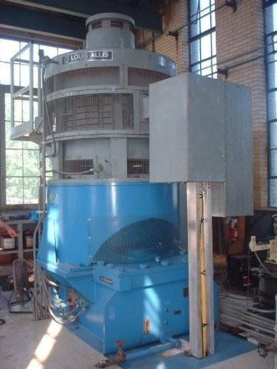 Used 1,000 kW Hydro-Electric Generating System; MFG 1985 by Teledyne / Louis-Allis