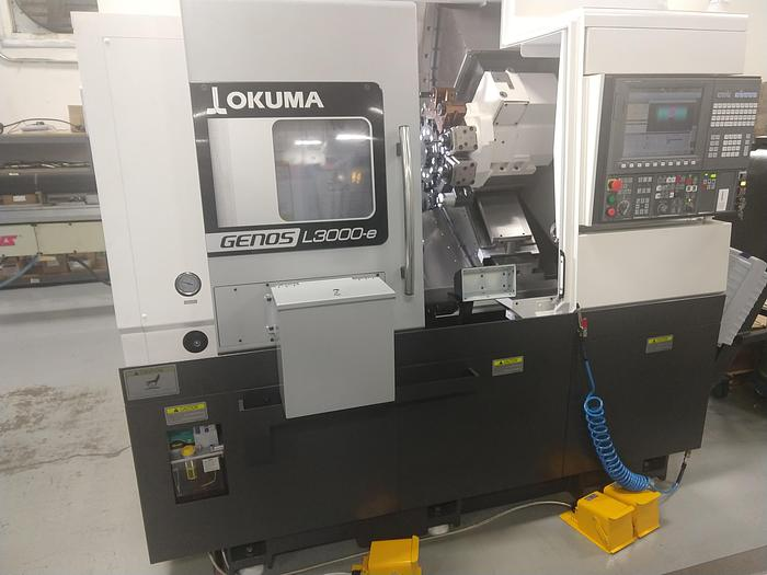 Used Okuma Genos L3000MY-e400 CNC Turning Center