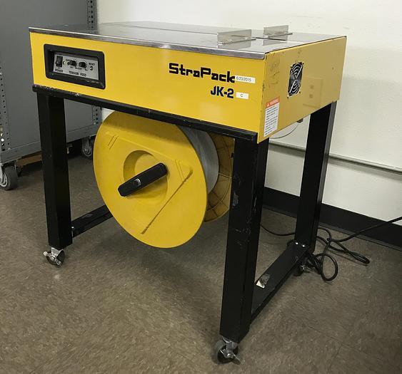 STRAPACK, JK-2 Semi Automatic Strapping Machine (USED / OPERATIONAL) JK-2
