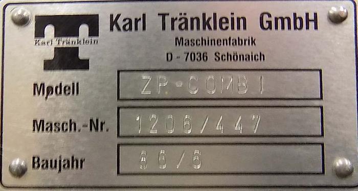 1986 Karl Tränklein ZP-COMBI