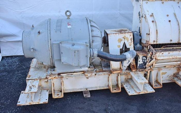 USED SCHUTTE HAMMER MILL, SWINGING HAMMERS, CARBON STEEL, 250 HP