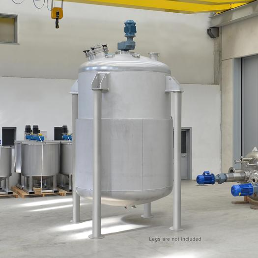 Miscelatore / reattore incamiciato 10.000 lt AISI304L