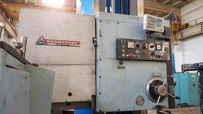 1976 Horizontal Boring Mill TOS WHN13.8
