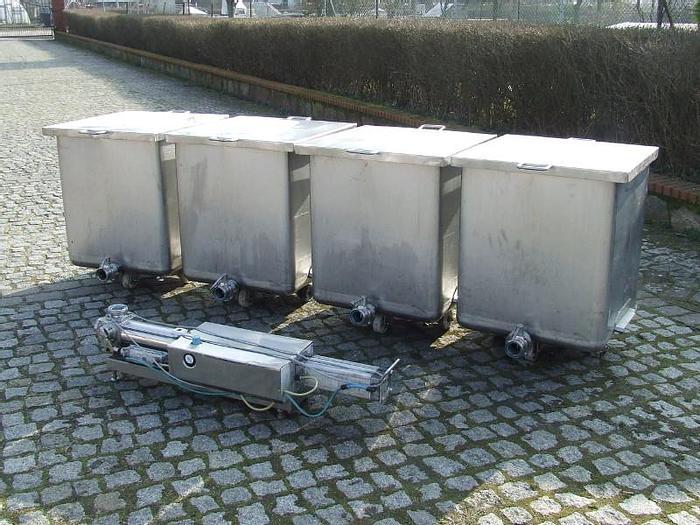 Used Zestaw do transportu pompowego produktów połpłynnych i gęstych