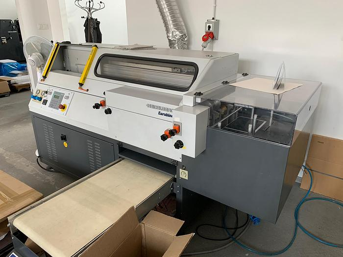 Used Eurotecnica HE 500 hot-melt perfect binder