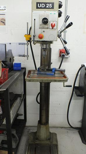 Used UNIPRIZE UD25 COLUMN DRILLING MACHINE