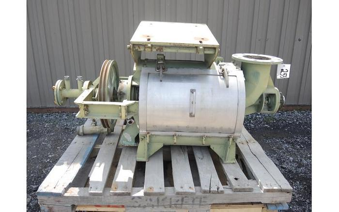 USED COWAN CENTRIFUGAL PULP SCREEN