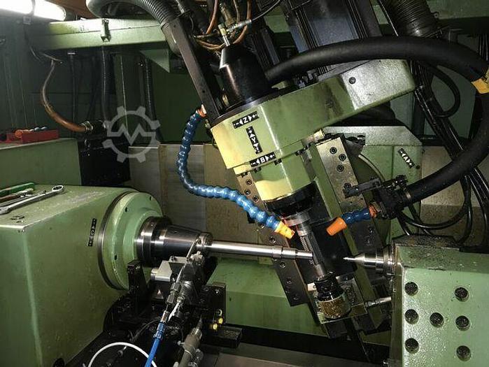 Gebraucht 1989 CNC Zahnrad Abwälzfräsmaschine Mikron A35 CNC mit IBH Steuerung