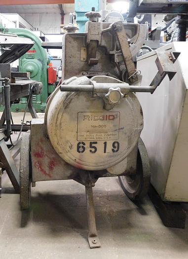 Used Rigid #805 Conduit Bender SA ¾ HP