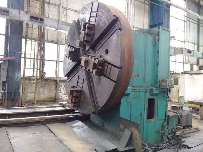 Heavy duty lathe ROMANIA IUG SNG2500X10000