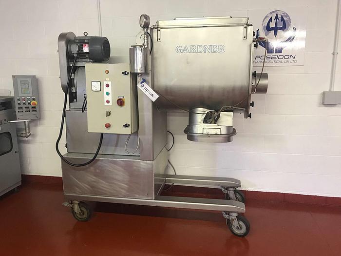 Used Kemutec Gardner U-Trough Mixer