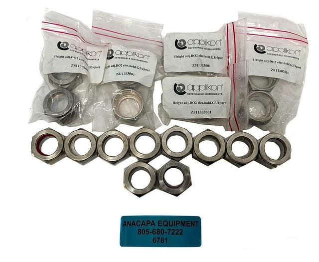 """Applikon Z811303001 D02 Electrode Holder, 2-7 Liter, G3/4"""" Lot of 20 (6781)W"""