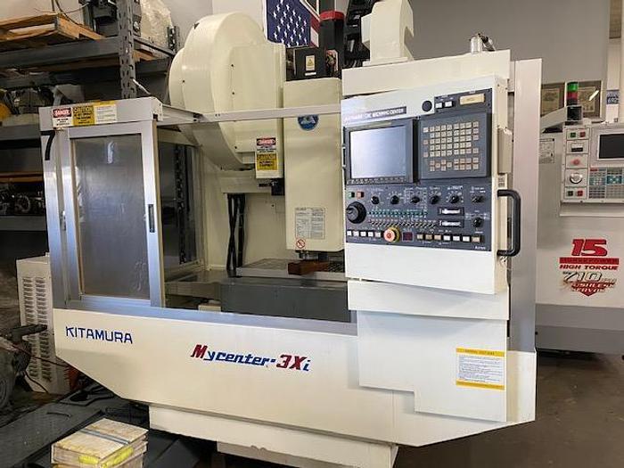 Used 2000 Kitamura Mycenter 3xi CNC Vertical Machining Center #5801