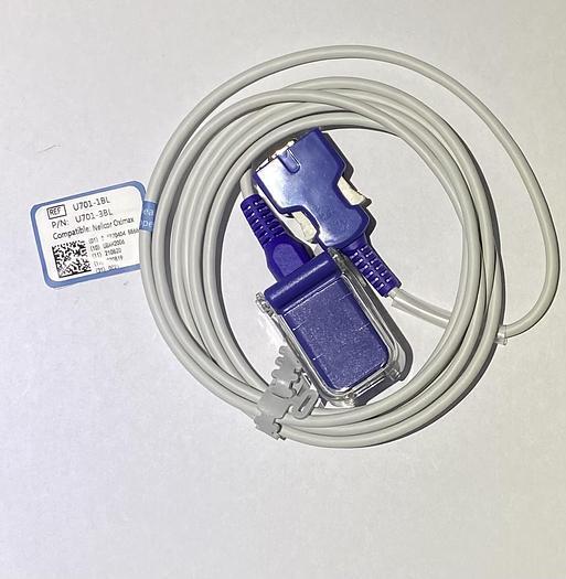 SPO2 Verlängerungskabel compatibel mit Nellcor Oximax