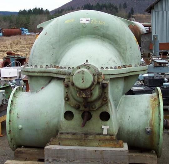 Used AHLSTROM V60U-1 FAN PUMP 11.000 GPM