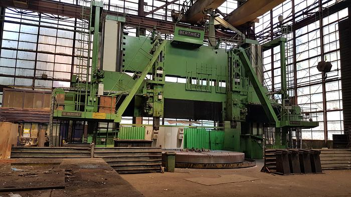 Double Column vertical turning lathe BERTHIEZ TDM 630 - 315 with  C axis and milling