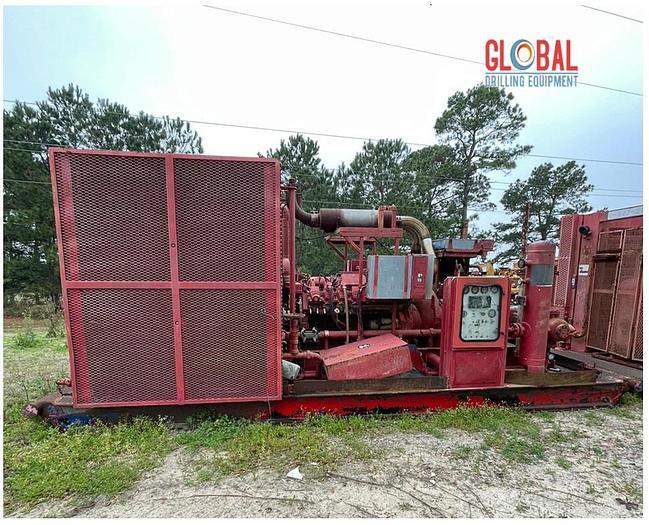Used Item 0538 : Sullair 1150/350 Air Compressor & Ariel JPG/2 Booster Combo