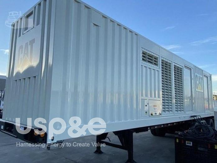Used 12 MW 2010 Used Caterpillar XQ2000 3516C Diesel Generator Sets