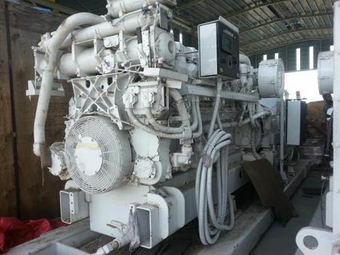 1.5 MW 2006 New Caterpillar 3516B DITA Diesel Generator