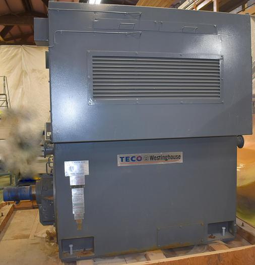 Unused 1500 HP  Teco-Westinghouse electric motor unused, 1200 RPM, 4000 volt, WPII