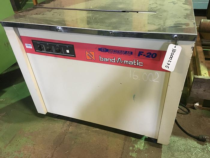 Used Band-A-Matic F-20 Used mobile strapping machine