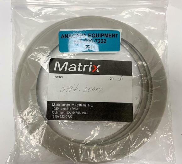 Matrix 0994-60017 O-Ring for Matrix 105 Plasma Asher Descum Lot of 4 New (8814)W