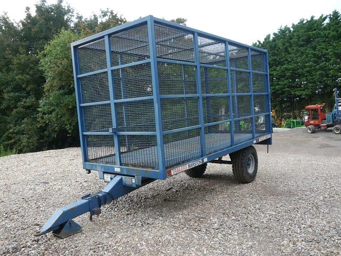 Used AS Marston Cage Trailer