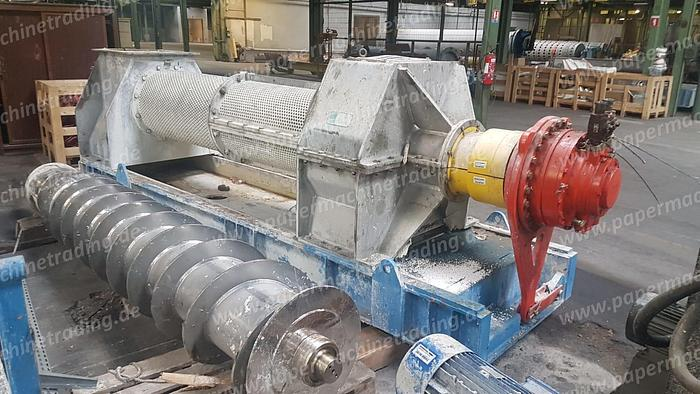 Used (SPA-337) - Screw press horizontal - Lamort
