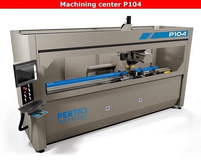 Used Pertici Machining Center P104